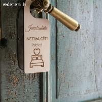 Personalizēti kāzu dekori | Kokradis Wood Design