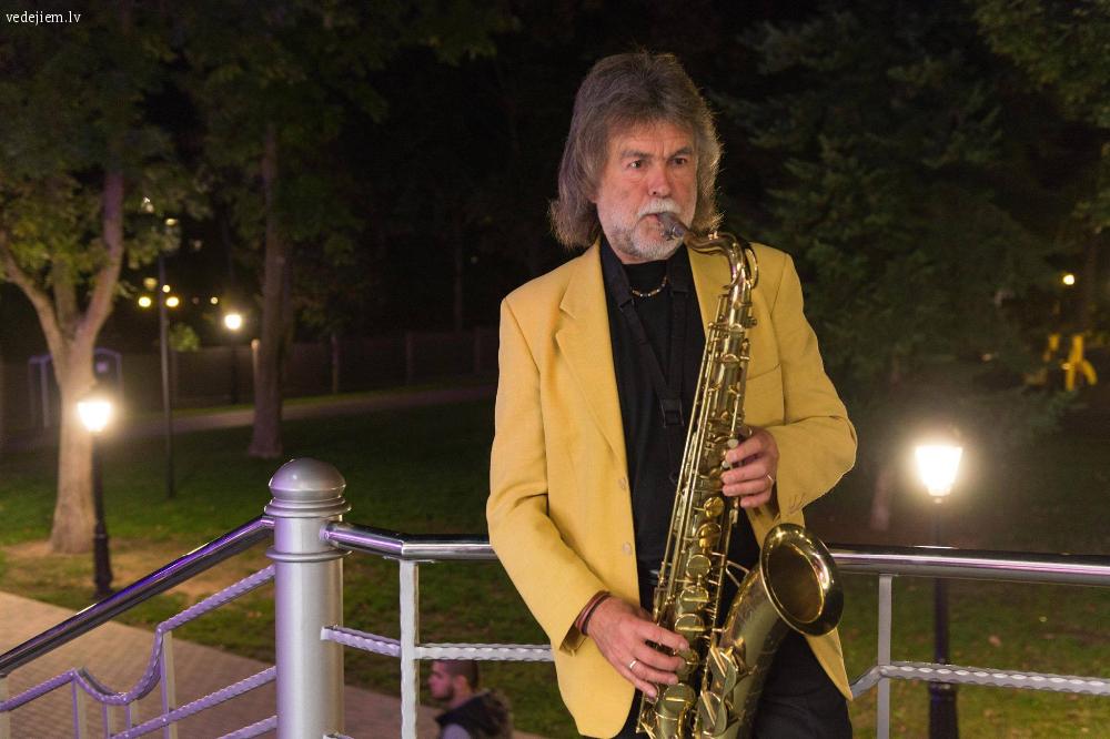 Saksofonists Guntis Brancis | Saksofons kāzās | Ceremonijā