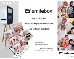 Smilebox - fotobūdiņu tavām kāzām!