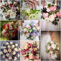 Sunshine Florist | Kāzu ziedu kompozīcijas un dekori