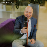 Vladimirs Azarovs - atraktīvs pasākumu un kāzu vadītājs