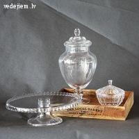 WhiteDeco | Saldumu trauku noma |  Stikla trauku noma